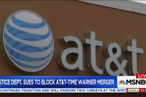 Is the DOJ's move to block AT&T-Time...