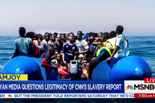 Libyan slave trade: 'world is watching,...