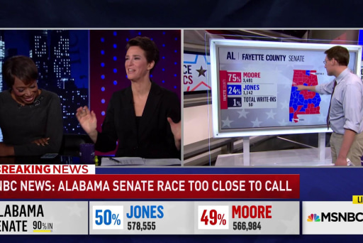 Doug Jones built no-holds-barred campaign