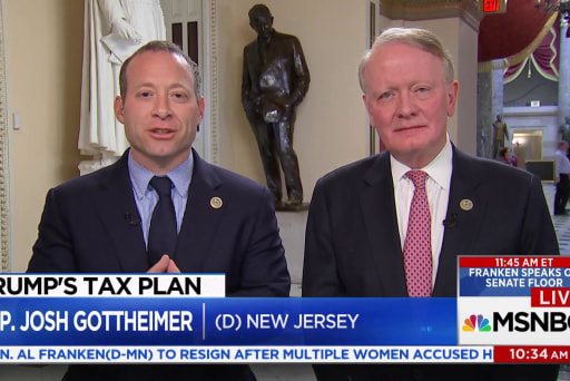 Bipartisan lawmakers discuss GOP tax plan...