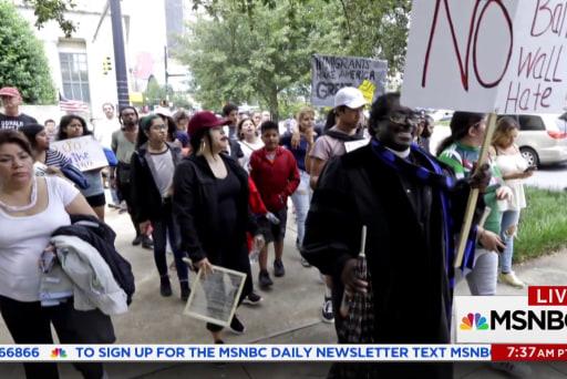 Activists speak out against Trump's immigration policies