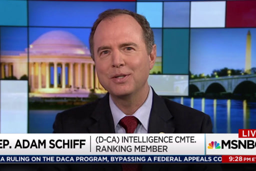 Rep. Schiff: White House playing games with Bannon testimony