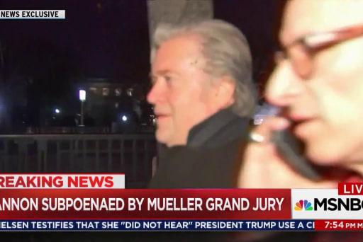 Steve Bannon will 'tell all' to Robert Mueller: report