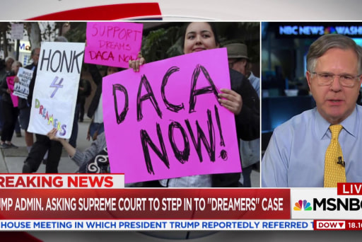 "Justice Department asks SCOTUS to hear ""DREAMERS"" case"