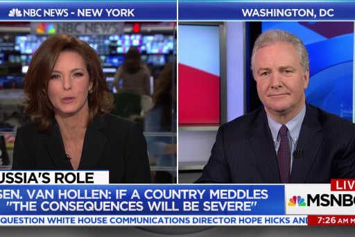 """Van Hollen: If a country meddles """"The consequences will be severe"""""""