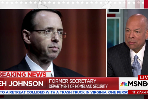 Fmr. DHS Secretary: Memo may compromise sources