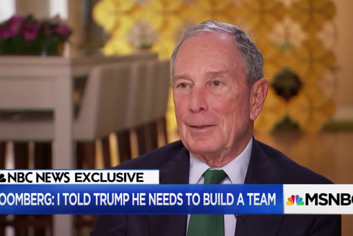 Bloomberg: I have no plans to run for president