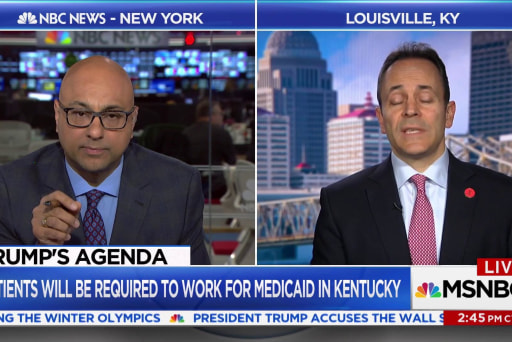Kentucky Gov. explains Medicaid work requirements