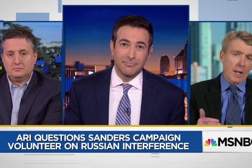 Clinton aide alleges Bernie Sanders and Trump 'indistinguishable' on Russia