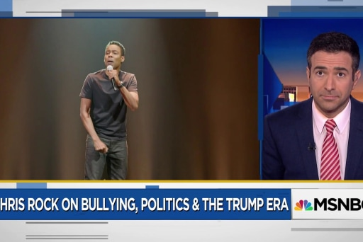 Watch Chris Rock explain how Trump can lead to the next Obama