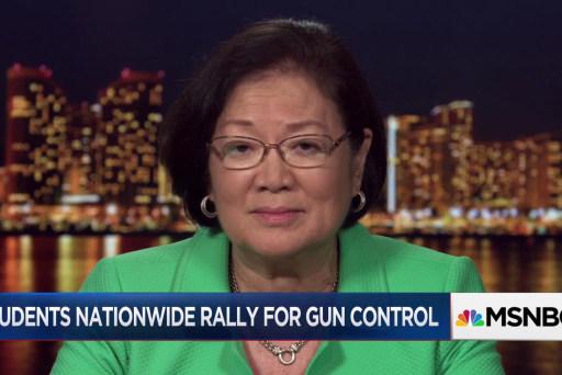 Dem Sen. Hirono: Hopeful teens can change gun control debate