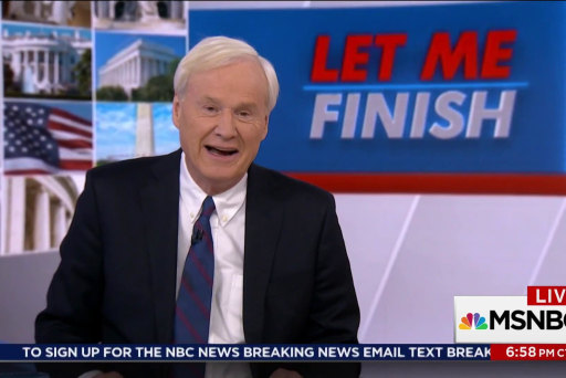 Chris Matthews: The underdog stands on top