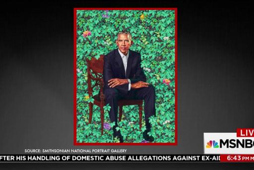 Obama portraits revealed