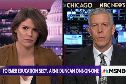 Arne Duncan: Other countries value their children more than we do