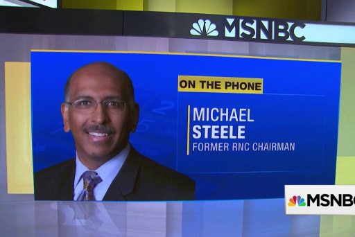 Michael Steele: Yes, Republican Party has racism problem