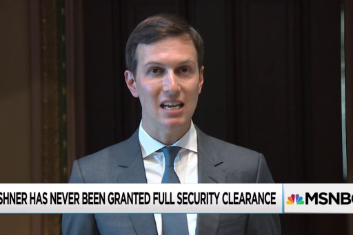 Nepotism likely to save Kushner in White House security crackdown