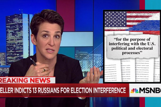 Mueller surprises again, indicts Russians for election intrusion
