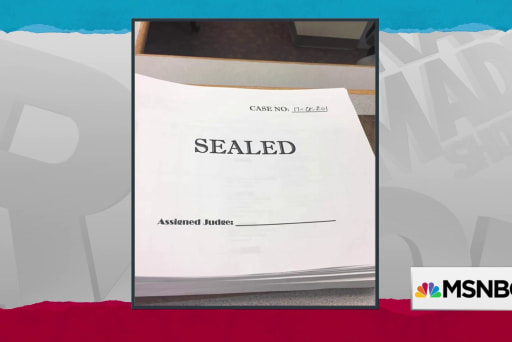Sealed document in Manafort Gates case sparks eager speculation