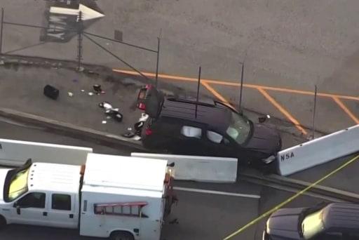 Shooting occurs outside NSA headquarters