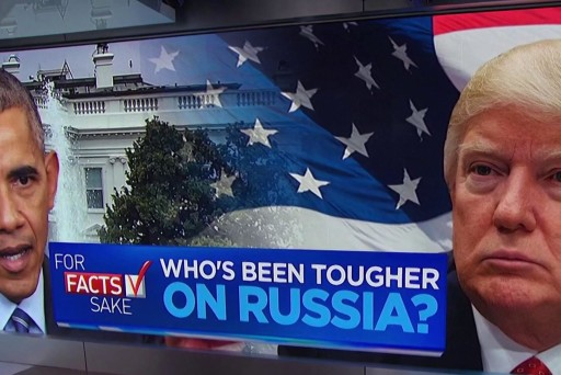 For Facts Sake: Trump not tougher than Obama on Russian election meddling