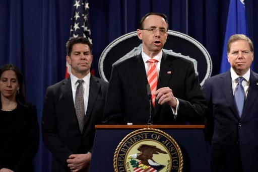 Justice Dept. charges nine Iranians for massive cyber attacks