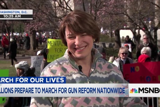 Sen. Klobuchar calls March for Our Lives 'the tipping point'