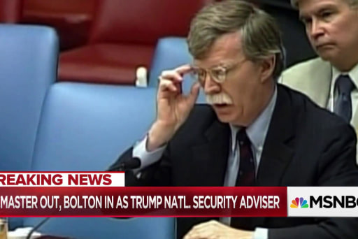 McFaul on Trump pick Bolton: What he believes in is very scary