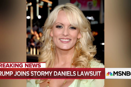 Trump shows new seriousness about Stormy Daniels case