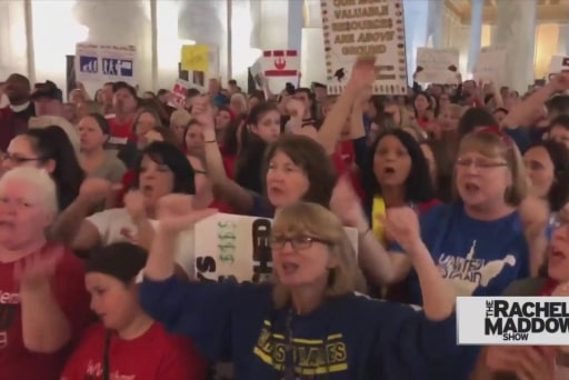 West Virginia teachers end strike victorious, may serve as model
