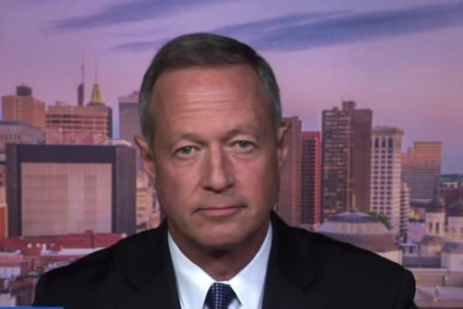 O'Malley: 'very much in favor' of doing away with gerrymandering