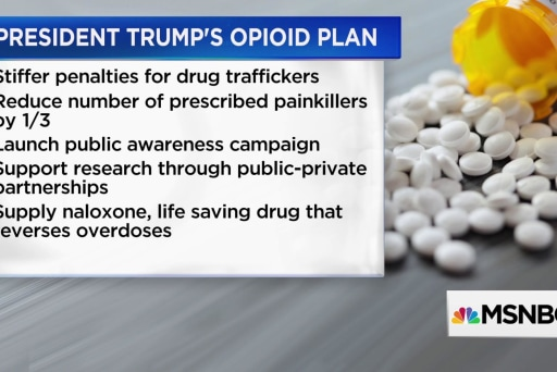 How effective is Trump's approach to the opioid epidemic?