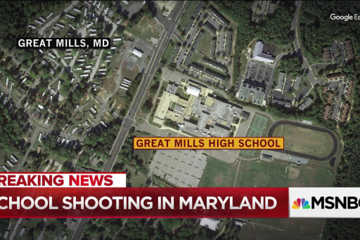 School shooting reported in Maryland