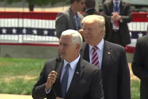 How White House chaos is disrupting Pence's plans