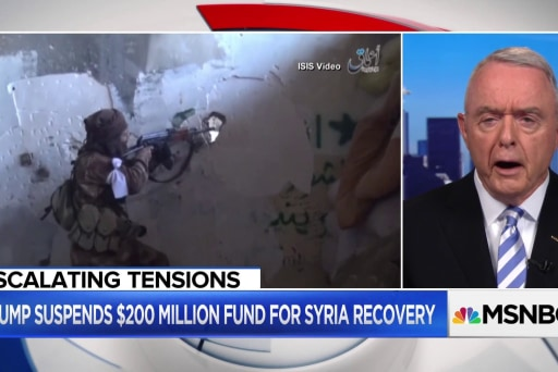 Ret. Gen. on Syria: 'We should not abandon the fight'