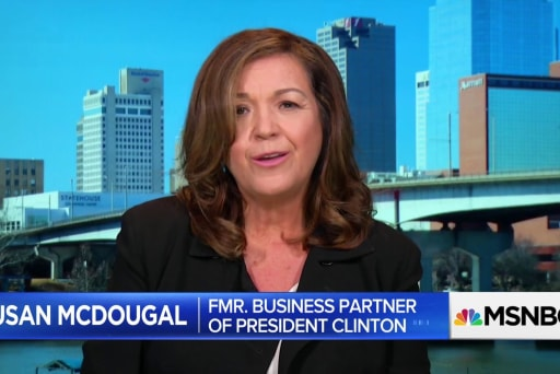 Susan McDougal, who was jailed for refusing to testify in Starr investigation, shares advice for Sam Nunberg