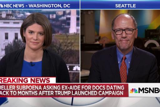 """Perez: Trump is """"Putin's poodle"""""""