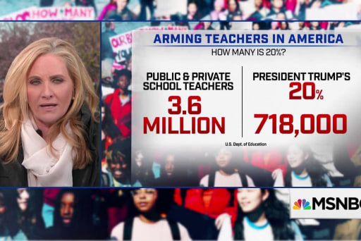 Here's what it would cost to arm teachers in America