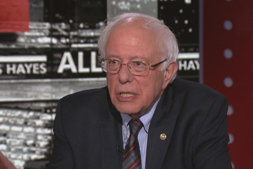 Sen. Bernie Sanders: It's time to decriminalize marijuana