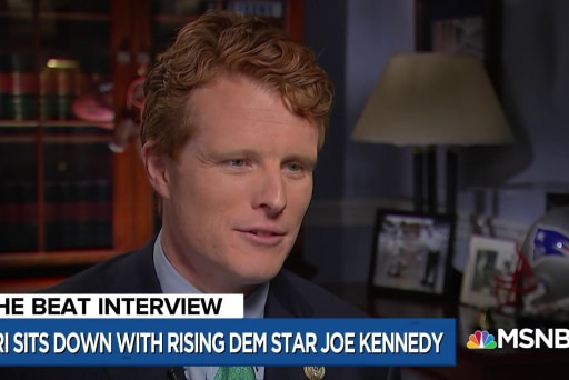 Watch Rep. Joe Kennedy compare Trump dynasty to Kennedy dynasty