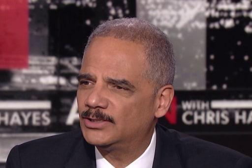 Eric Holder: 'I'm thinking about' running for president