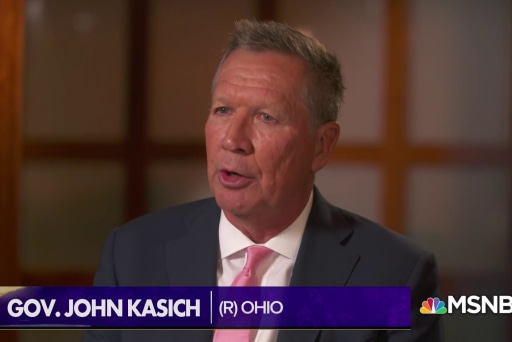 """Gov. Kasich: """"All my options are on the table"""" for 2020"""