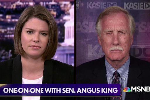 Sen. King: Senate Intel Committee looking into collusion 'as soon as this summer'