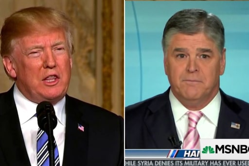 Hannity's relationship to Trump called 'parasitic, co-dependent'