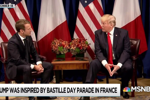 Bolton's affiliations bad for Trump relationship with Macron