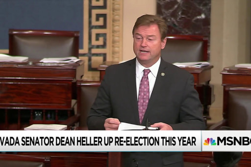 Heller calls for fewer Democratic voters, more GOP for 2018 race