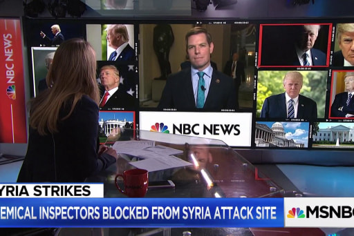 """Rep Swalwell: Can't allow an """"unhinged President"""" to act in Syria without a plan"""