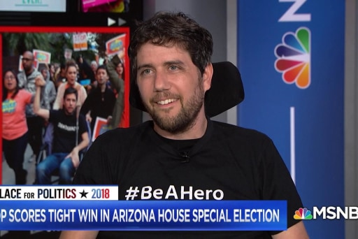 Activist Ady Barkan says despite loss in Arizona, every seat is up for grabs