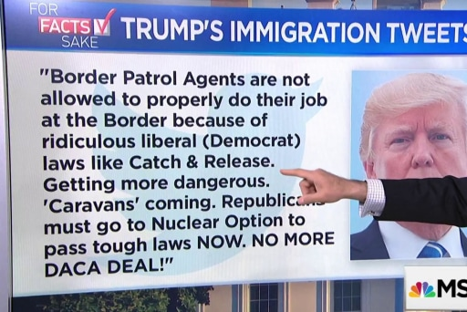 For Fact's Sake: Trump's immigration tweets