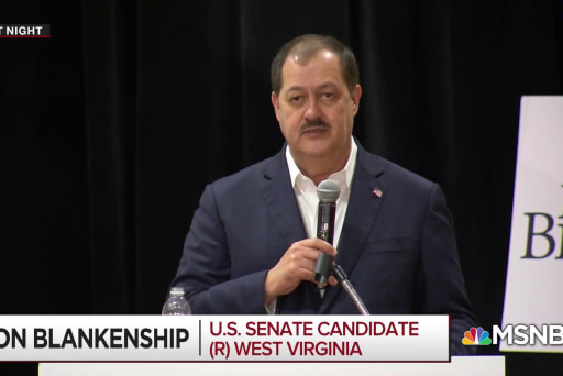 The political demise of Don Blankenship