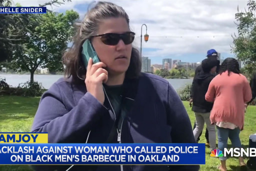 This week in racism: Barbequing while black